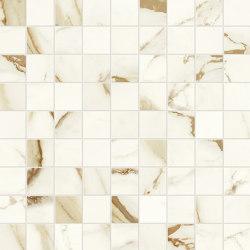 Marvel Shine Calacatta Imperiale Mosaico 30x30 | Carrelage céramique | Atlas Concorde