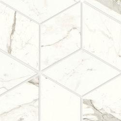 Marvel Shine Calacatta Prestigio Esagono 30x35 Lapp | Baldosas de cerámica | Atlas Concorde