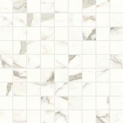 Marvel Shine Calacatta Prestigio Mosaico 30x30 | Ceramic tiles | Atlas Concorde