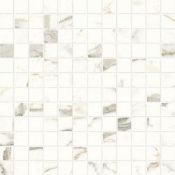 Marvel Shine Calacatta Prestigio Mosaico 30x30 Lapp   Ceramic tiles   Atlas Concorde
