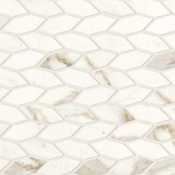 Marvel Shine Calacatta Prestigio Twist 30,5x30,5 Silk | Ceramic mosaics | Atlas Concorde