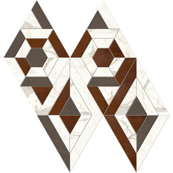 Marvel Shine Mosaico Match Lappato | Mosaïques céramique | Atlas Concorde