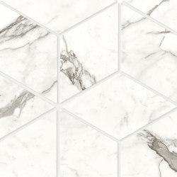 Marvel Shine Statuario Supremo Esagono 30x35 Lapp | Ceramic tiles | Atlas Concorde