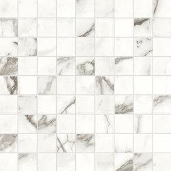 Marvel Shine Statuario Supremo Mosaico 30x30 | Baldosas de cerámica | Atlas Concorde