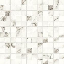 Marvel Shine Statuario Supremo Mosaico 30x30 Lapp | Ceramic tiles | Atlas Concorde
