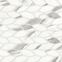 Marvel Shine Statuario Supremo Twist 30,5x30,5 Silk | Ceramic mosaics | Atlas Concorde