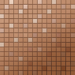 Prism Caramel MosaicoQ 30,5x30,5 | Ceramic mosaics | Atlas Concorde