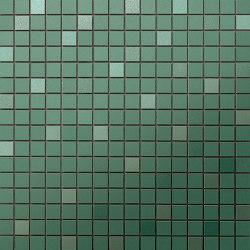 Prism Emerald MosaicoQ 30,5x30,5 | Ceramic mosaics | Atlas Concorde