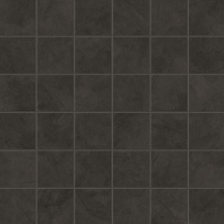 Prism Graphite Mosaico 30x30 | Ceramic mosaics | Atlas Concorde
