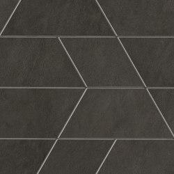 Prism Graphite Mosaico Maze 31x44,6 Silk | Ceramic mosaics | Atlas Concorde