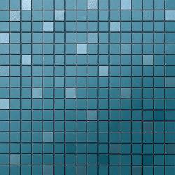 Prism Midnight MosaicoQ 30,5x30,5 | Ceramic mosaics | Atlas Concorde