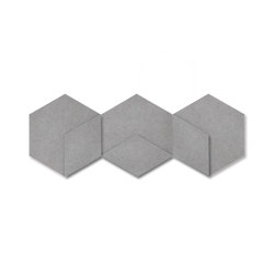 Heksagon Panel Cuboid 3 G1 | Sound absorbing objects | SIINNE