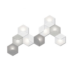 Heksagon Light 9 G | Wall lights | SIINNE