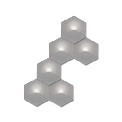 Heksagon Light 6 G2 | Wall lights | SIINNE
