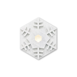 Heksagon Light Snowflake A | Lámparas de pared | SIINNE