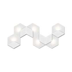 Heksagon Light 6 W | Wall lights | SIINNE
