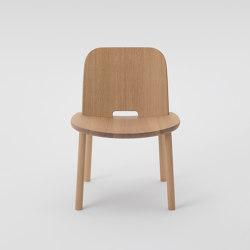 Fugu Lobby chair (armless)   Chairs   MARUNI