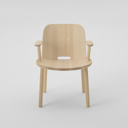 Fugu Lobby chair (with armrests)   Chairs   MARUNI