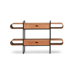 Apelle Bookcase | Shelving | Midj