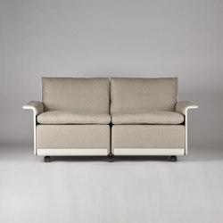 620 Chair Programme: Two seat sofa (linen) | Sofás | Vitsoe