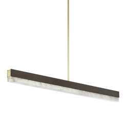 Artés 1200 Pendant Bronze | Suspended lights | CTO Lighting