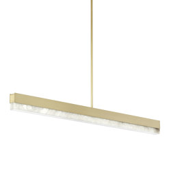 Artés 1200 Pendant Satin Brass | Suspended lights | CTO Lighting