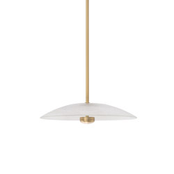 Cielo pendant medium satin brass | Suspended lights | CTO Lighting