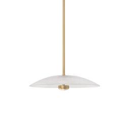 Cielo pendant medium satin brass | Suspended lights | CTO Lighting