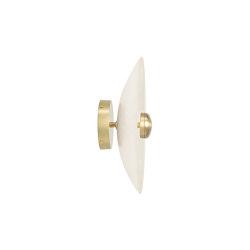 Cielo flush small satin brass | Wall lights | CTO Lighting