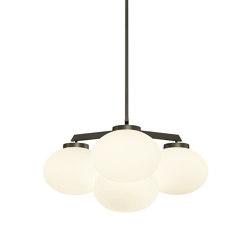 Cloudesley chandelier small bronze | Chandeliers | CTO Lighting