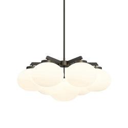 Cloudesley chandelier medium bronze | Chandeliers | CTO Lighting