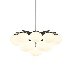 Cloudesley chandelier large bronze | Chandeliers | CTO Lighting