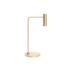 Heron table satin brass | Table lights | CTO Lighting