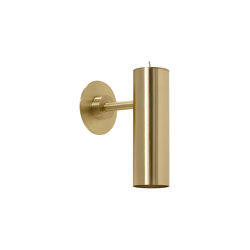 Heron wall satin brass | Wall lights | CTO Lighting