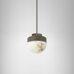 Lucid 200 pendant bronze | Suspended lights | CTO Lighting