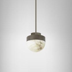 Lucid 200 pendant bronze | Lampade sospensione | CTO Lighting