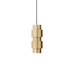 Ring pendant satin brass | Suspended lights | CTO Lighting
