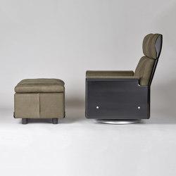 Sesselprogramm 620: Hohe Rückenlehne | Fußhocker | Sessel | Vitsoe