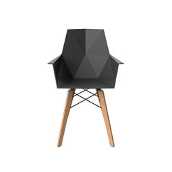 Faz wood armchair | Chaises | Vondom