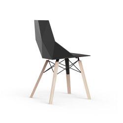 Faz wood chair | Chaises | Vondom