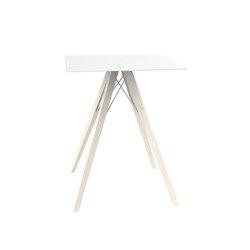 Faz wood dining table | Tavoli pranzo | Vondom