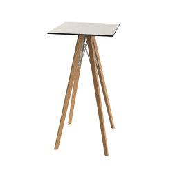 Fazz wood mesa alta | Mesas altas | Vondom