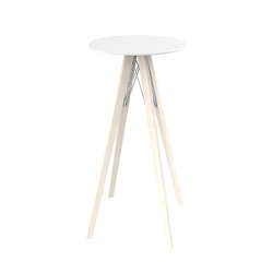 Faz wood high table | Standing tables | Vondom