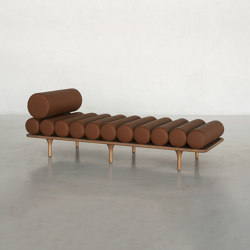 Five to Nine Daybed With Headrest   Lettini / Lounger   Tacchini Italia