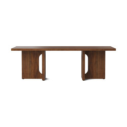 Androgyne Lounge Table, Walnut | Walnut | Coffee tables | MENU