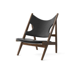 Knittin Lounge Chair, Walnut | Dakar 0842 | Armchairs | MENU