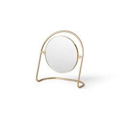 Nimbus Table Mirror | Polished Brass | Mirrors | MENU