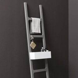 Oltre bath towel ladder rack in MDF | Towel rails | NIC Design