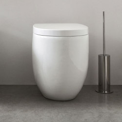 Milk floor-mounted toilet   Bidets   NIC Design