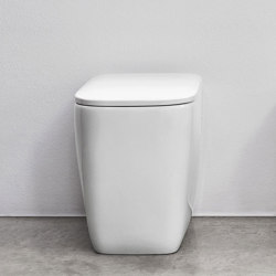 Semplice floor-mounted toilet or with unconventional set-out measurement   WC   NIC Design